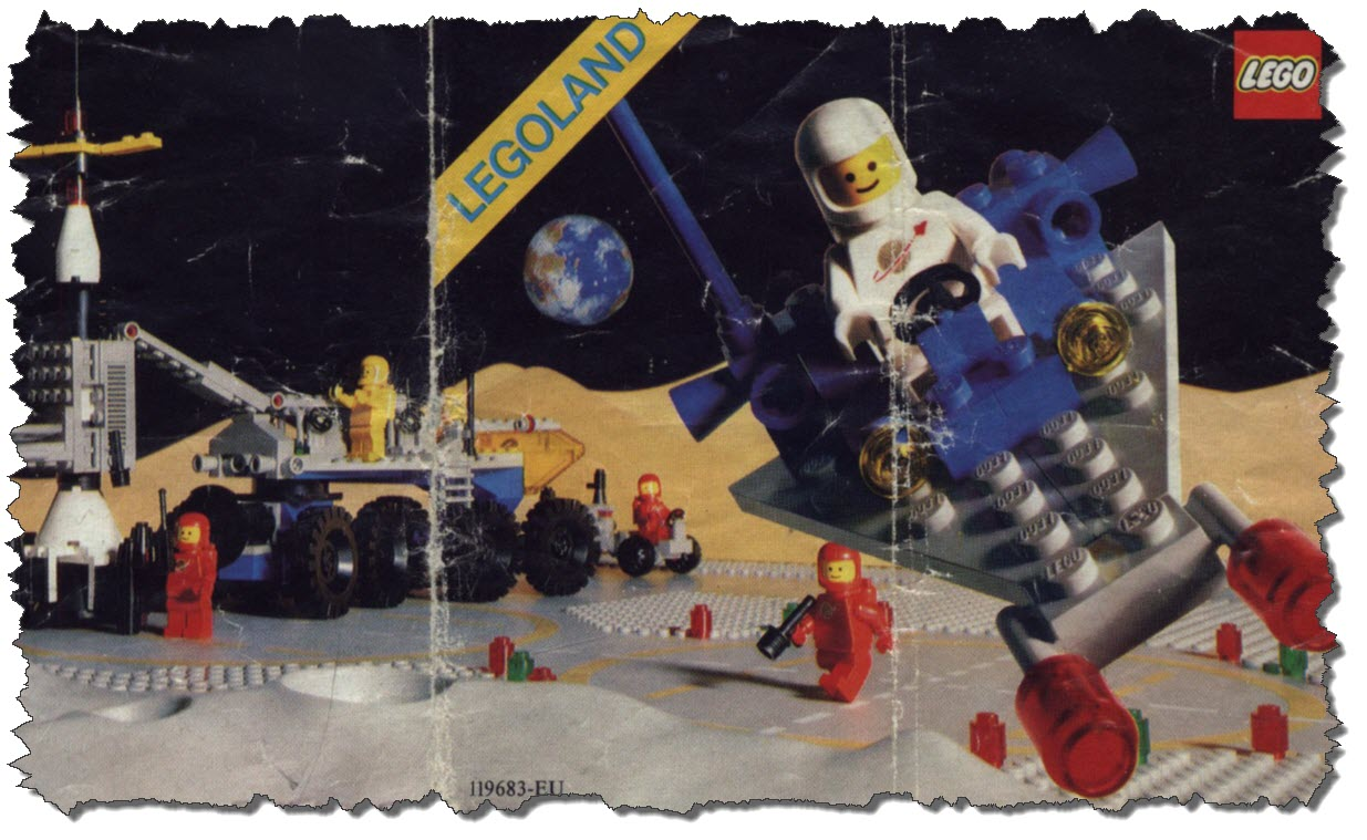 LEGO – Some more Classic Space from 1983 | First Light