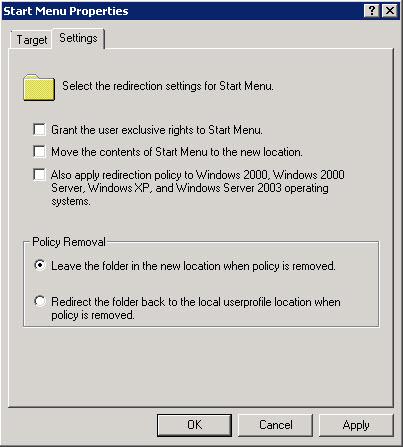 Image 04 - Redirection Settings