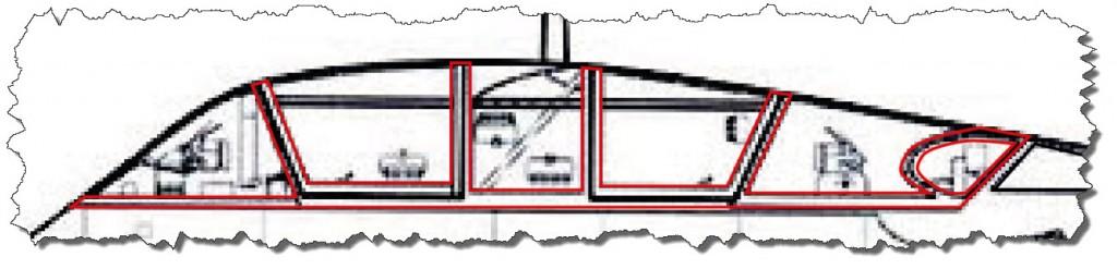 22 - Original Cockpit Section