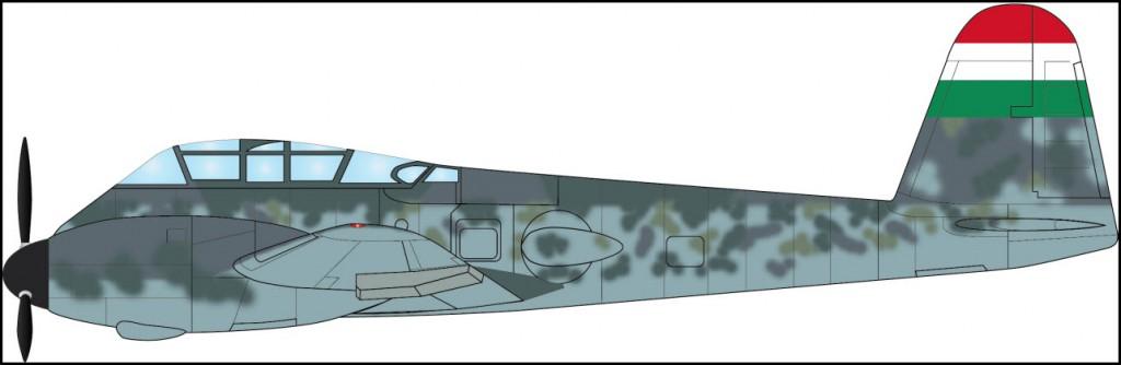 29 - Me 210 Ca-1 Paint Scheme