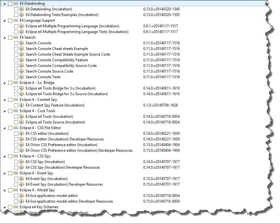 006 - E4 Tools Integration Build 20140719