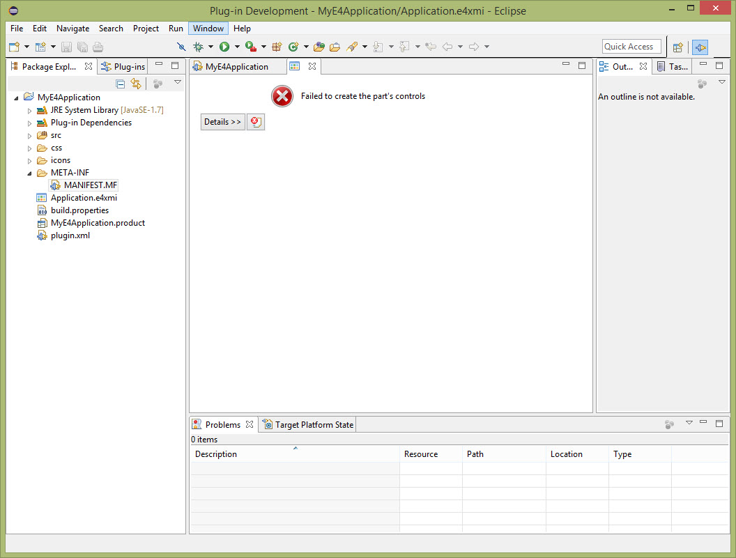 013 - New Application in IDE