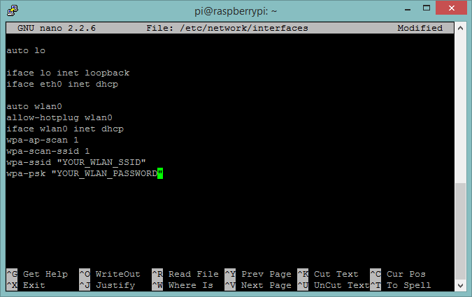 Image 03 - Configure WLAN