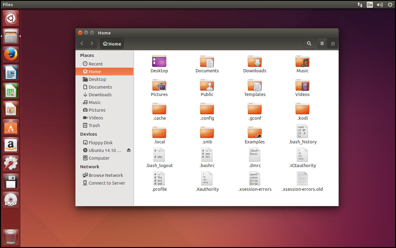 Image 09 - File Manager with Hidden Files