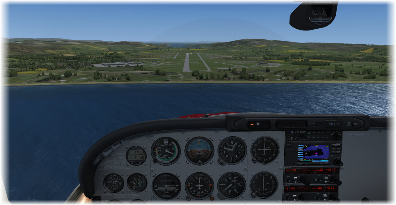 Image 17 - Final Approach Campbeltown Rwy 11